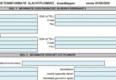 Aangepast VKI-document braadkippen vanaf 01/06/2020 van kracht