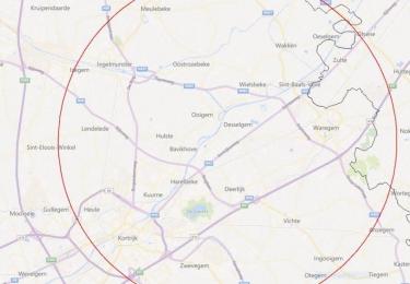 Bufferzone na uitbraak van hoogpathogene vogelgriep H5N8 bij Waregemse handelaar wordt uitgebreid naar beschermingsgebied (3 km) en toezichtsgebied (10 km)