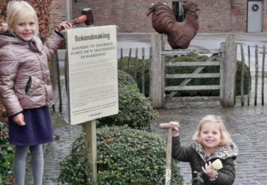 """Met ludieke actie vragen de boeren en tuinders van Hoogstraten """"Ruimte om te ondernemen"""""""