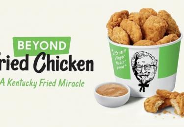 Vleesvervangers binnenkort ingeburgerd? Kentucky Fried Chicken doet de test