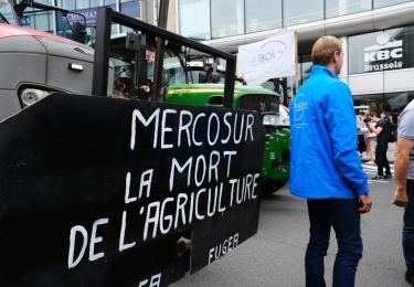 Wallonië kant zich tegen Mercosur-akkoord